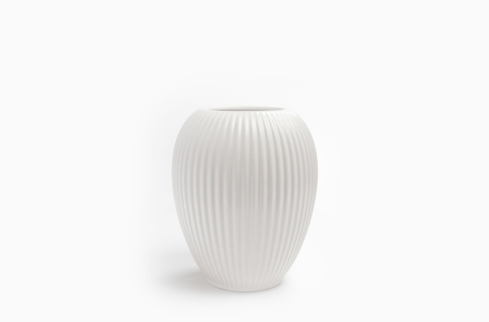 Vase Model 4767 Hvid 18 cm