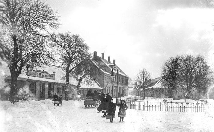 Michael Andersen Keramik Bornholm start 1900 tallet sne børn
