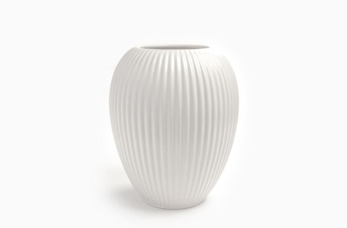 Vase Model 4767 Hvid 23 cm